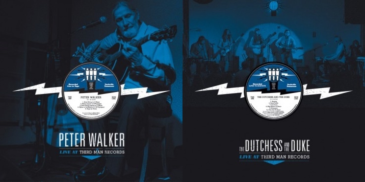 The Dutchess and the Duke, Peter Walker Getting 'Live at Third Man Records' LPs