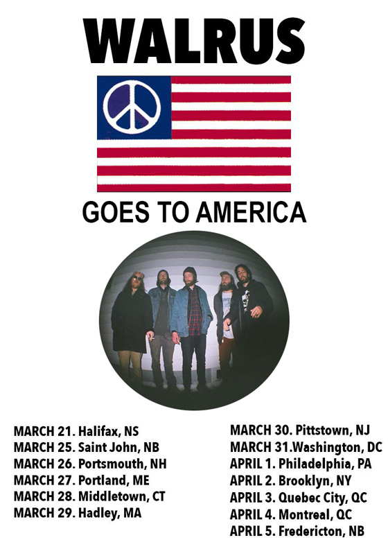 Walrus Map Out North American Tour