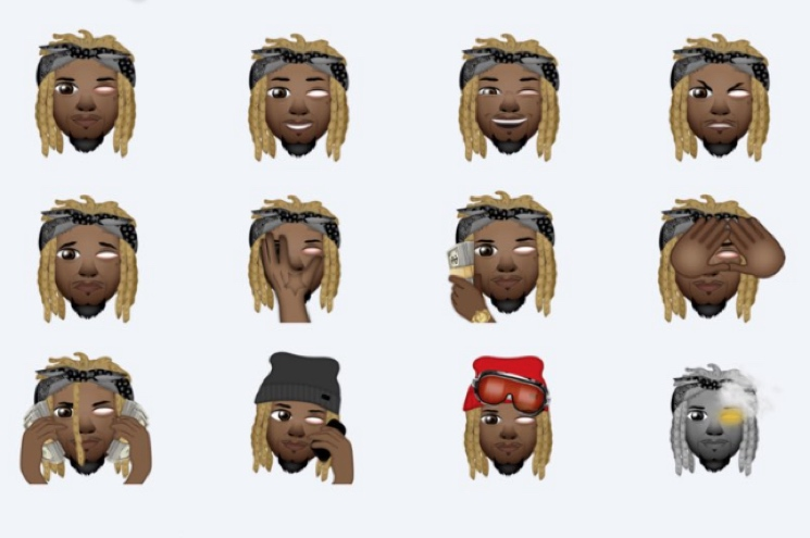 Fetty Wap Releases His Own Line of Emojis