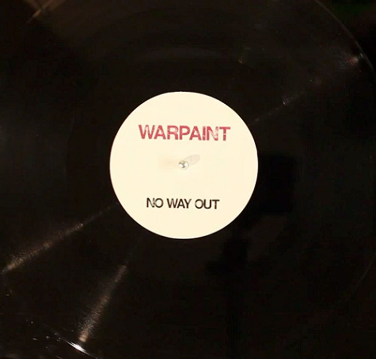 Warpaint 'No Way Out'