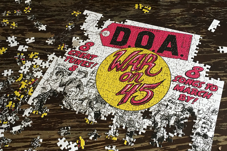 D.O.A. Selling 'War on 45' Jigsaw Puzzle for Charity