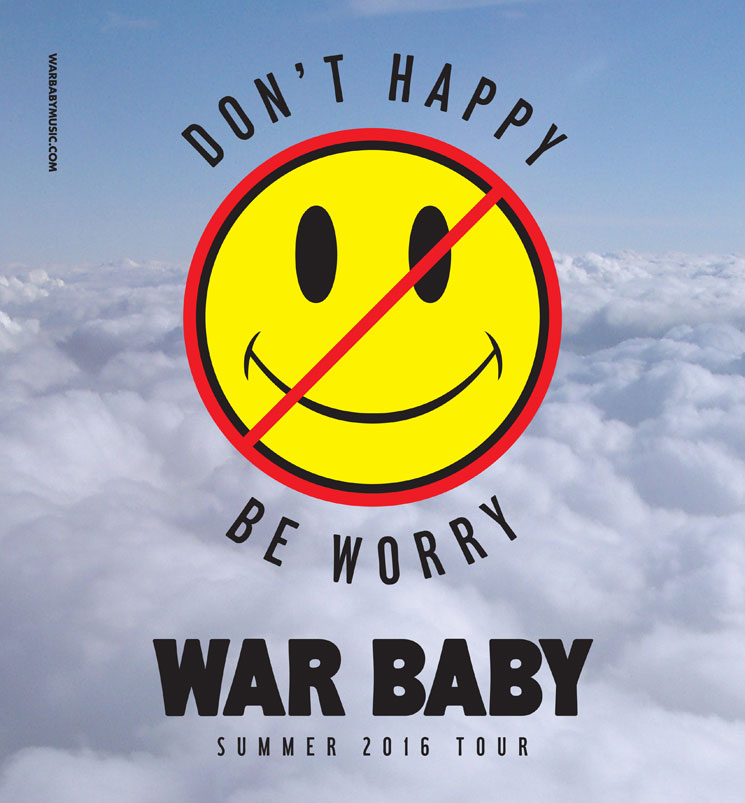 War Baby Head Out on Canadian Tour, Premiere 'Syntax Error'
