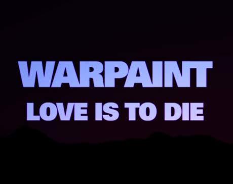 Warpaint 'Warpaint' (album teaser) (dir. by Chris Cunningham)