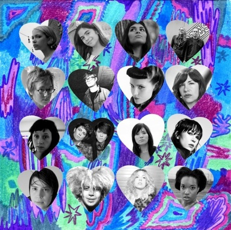 "Various ""Go Forth, Feminist Warriors"" (ft. Tegan and Sara, Carrie Brownstein, Dum Dum Girls)"