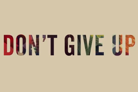Washed Out 'Don't Give Up' (lyric video)