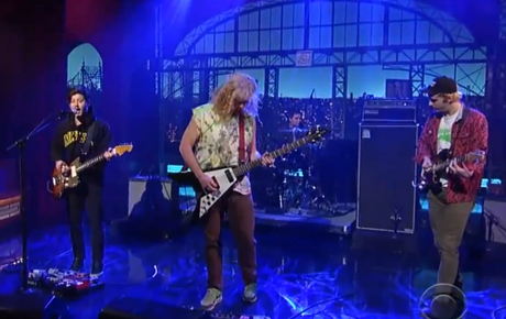 "Wavves ""Demon to Lean On"" (live on 'Letterman')"