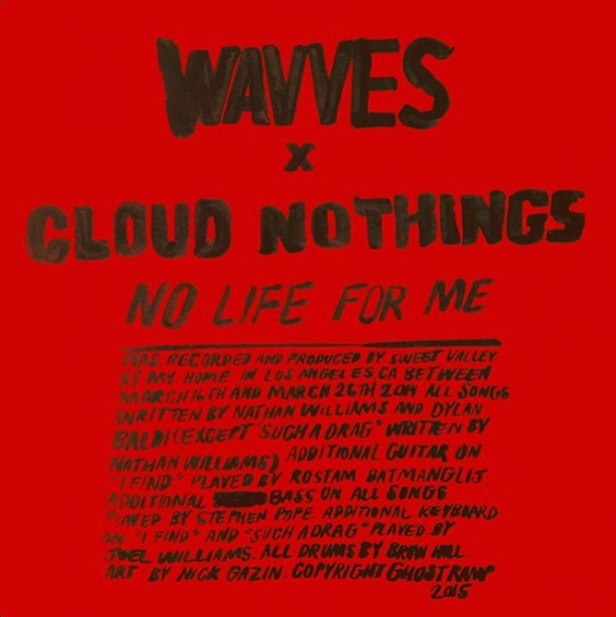 Wavves and Cloud Nothings Announce 'No Life for Me' LP