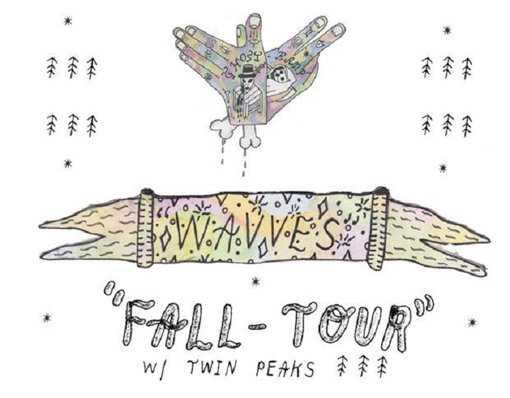 Wavves Announce North American Tour with Twin Peaks
