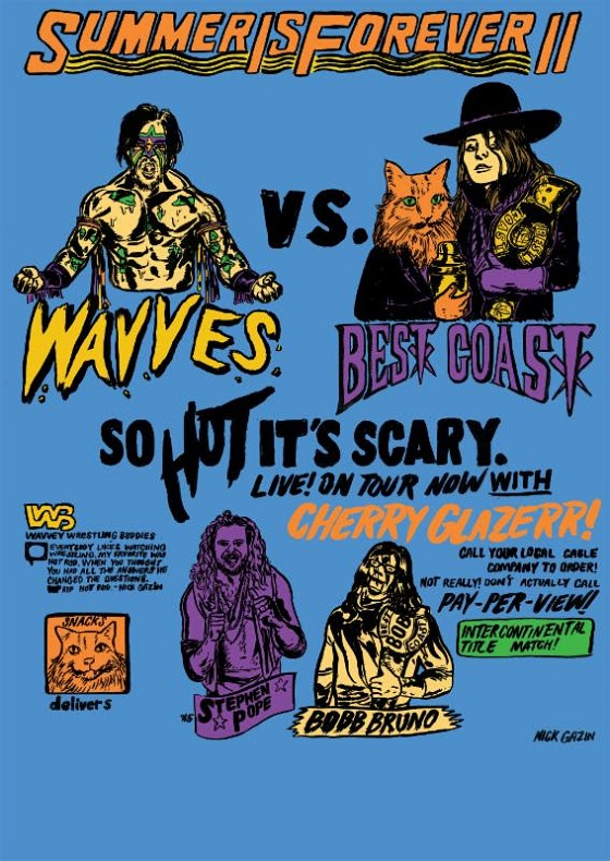 "Wavves and Best Coast Unveil ""Summer Is Forever II"" Tour"