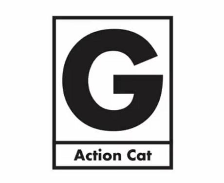 "Gerard Way ""Action Cat"""
