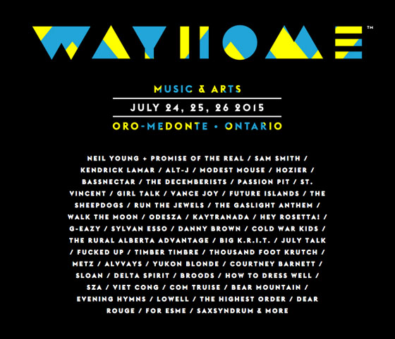 WayHome Unveils Second Wave of Performers