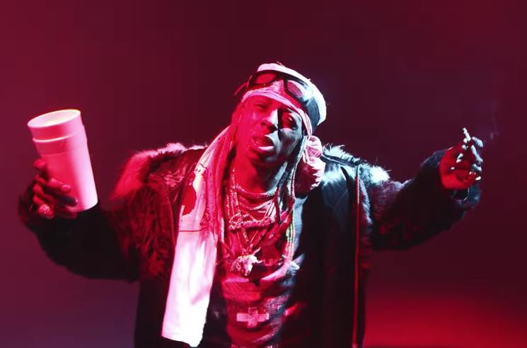 "​Lil Wayne Celebrates the #UproarChallenge in ""Uproar"" Video"