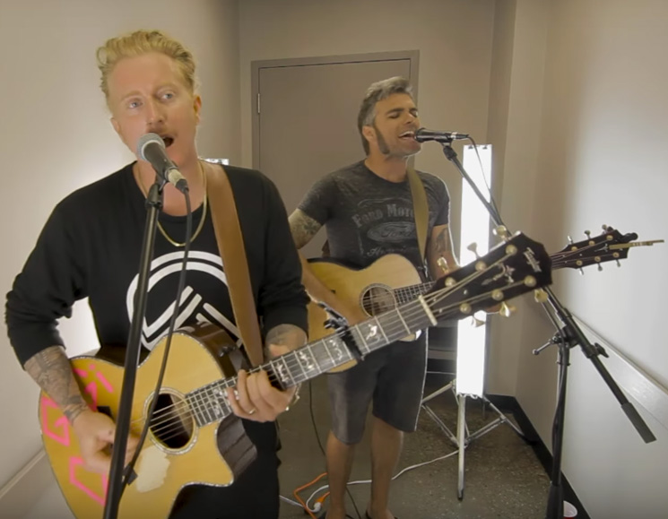 Watch We the Kings Go Acoustic on No Future