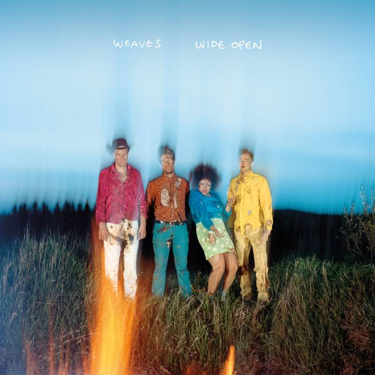 Weaves 'Wide Open' (album stream)