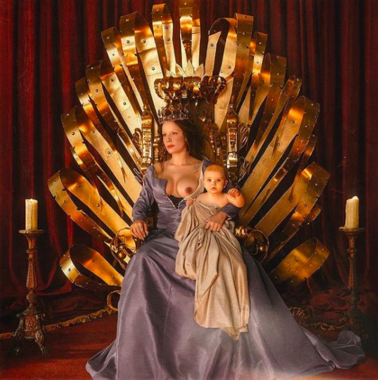 Halsey Is Renaissance Royalty in New Album Art