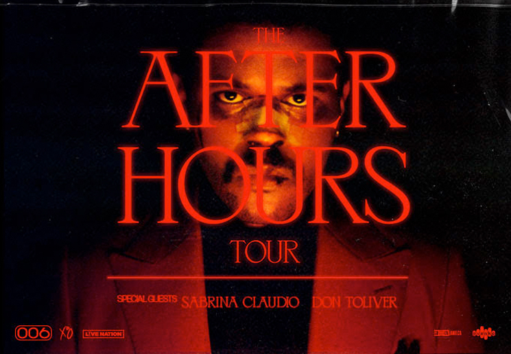 The Weeknd Announces Massive 'After Hours Tour'