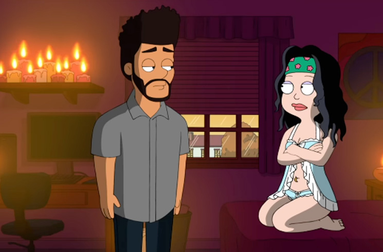 "Here's the Weeknd Telling Us ""I'm a Virgin"" on 'American Dad'"