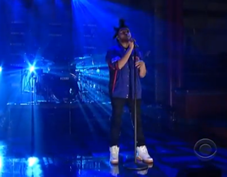 "The Weeknd ""Pretty"" (live on 'Letterman')"