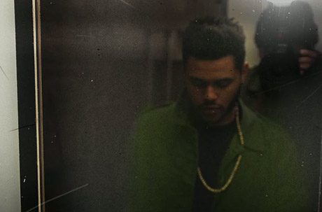 "The Weeknd ""Rolling Stone"""