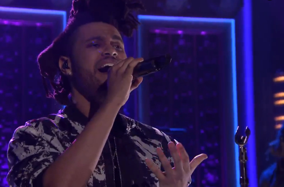 """The Weeknd """"Earned It"""" (live on 'Fallon')"""