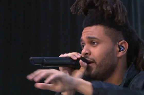"The Weeknd ""Earned It"" (live on 'Today')"