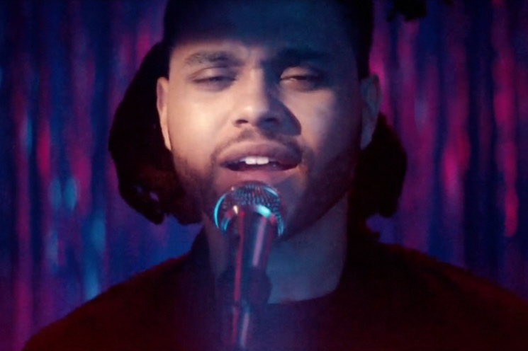 """The Weeknd """"Can't Feel My Face"""" (video)"""