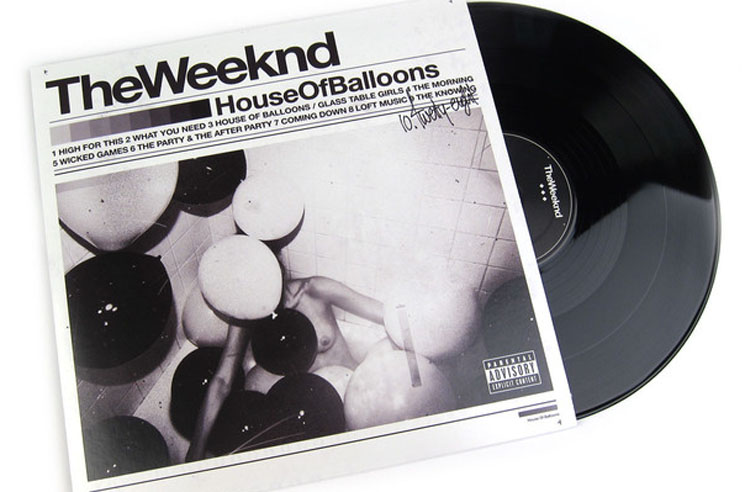 The Weeknd's 'House of Balloons,' 'Thursday' and 'Echoes of Silence' Get Vinyl Treatment
