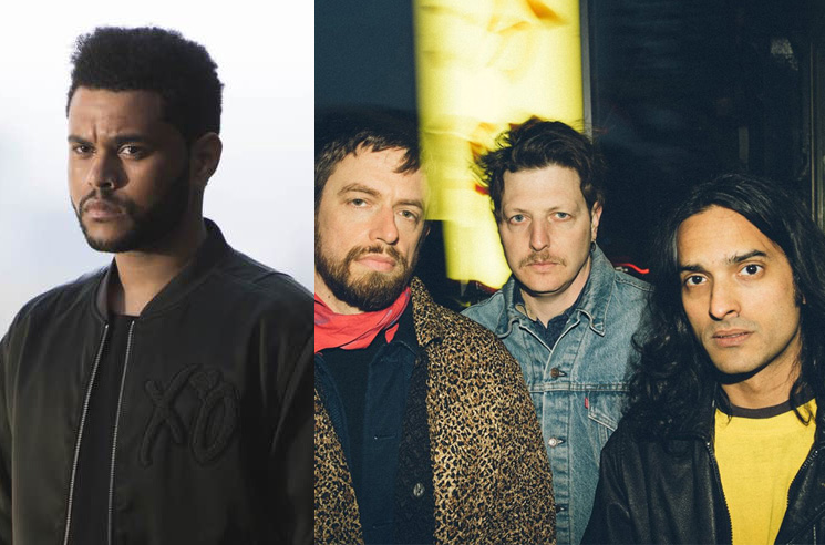 "The Weeknd Denies Sampling Yeasayer on ""Pray for Me"""