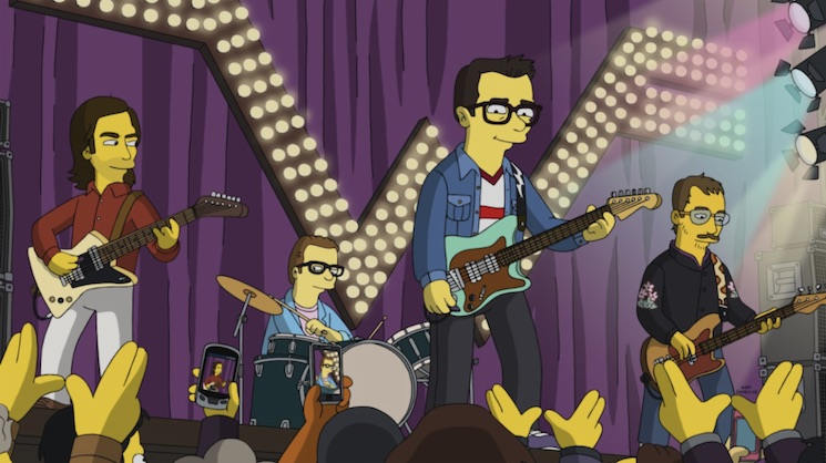 Weezer Are Debuting a New Song on 'The Simpsons' This Weekend