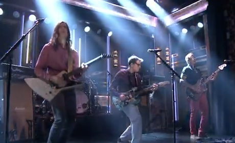 "Weezer ""Back to the Shack"" (live on 'Fallon')"
