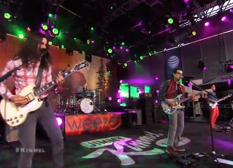 "Weezer ""Ain't Got Nobody"" (live on 'Kimmel')"