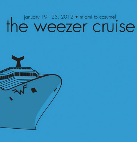 Weezer Cruise to Include Wedding Vow Renewals, Bellyflop Contest, Shuffleboard Tournament