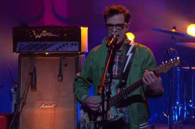 Weezer 'Thank God for Girls' (live on 'Conan')