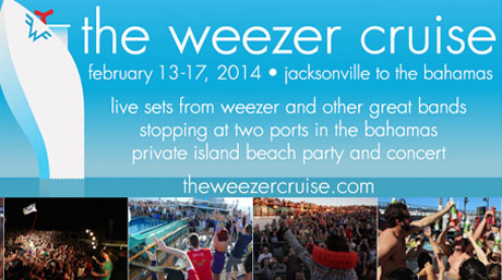 Weezer Bring Back Cruise for 2014 Voyage