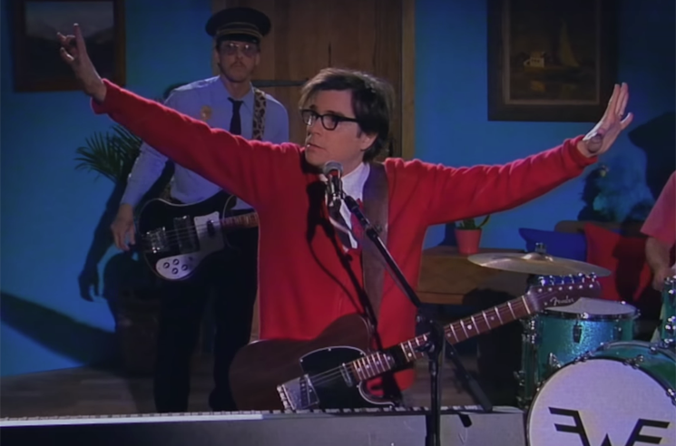 "​Weezer Get ""High as a Kite"" and Rock Out in 'Mr. Rogers' Parody"