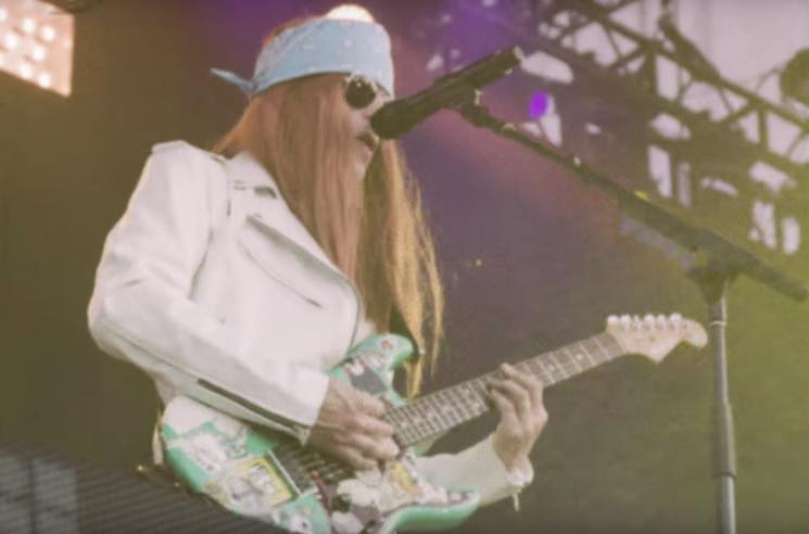 "​Weezer Do Their Best Guns N' Roses Impression in ""Feels Like Summer"" Video"