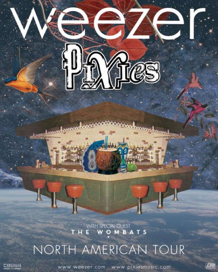 Weezer and Pixies Team Up for 2018 North American Tour