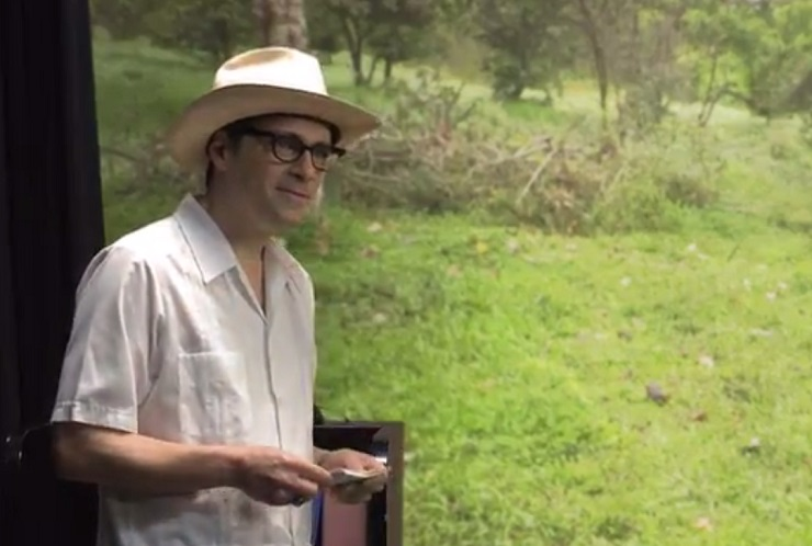 "Watch Rainn Wilson Get ""The Weezer Experience"" with a Tour of the Galapagos"