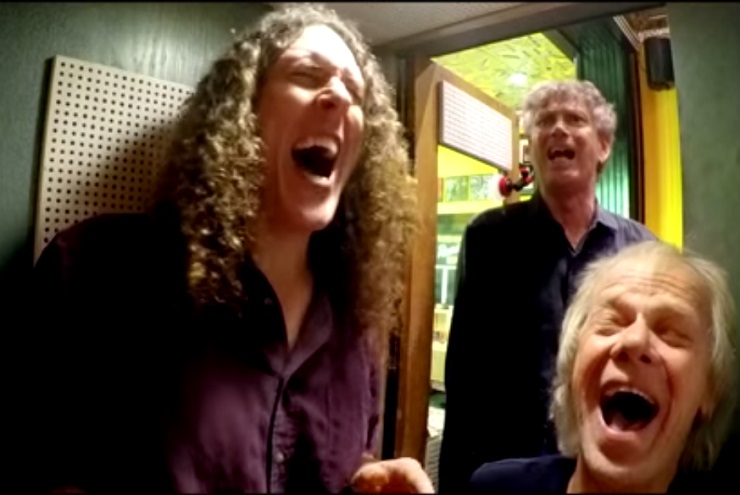 """Weird Al"" Yankovic Third Man Record Booth Session (video)"