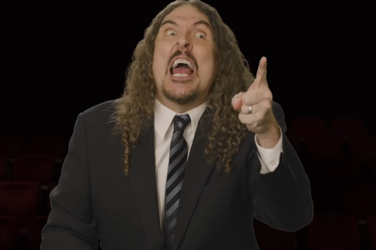 'Weird Al' Yankovic Is a Presidential Debate Moderator in 'We're All Doomed'