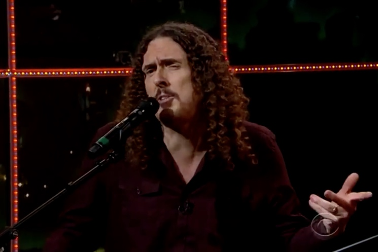 """Weird Al"" Yankovic Woody Guthrie tribute (live on 'Late Late Show')"