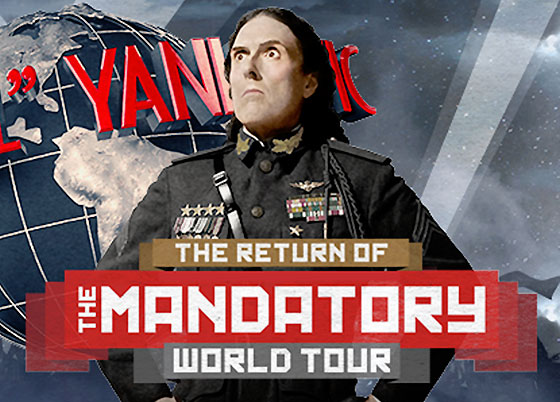 'Weird Al' Announces the Return of the 'Mandatory World Tour'