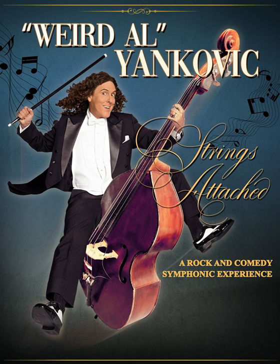 'Weird Al' Yankovic Announces 'Strings Attached' Tour