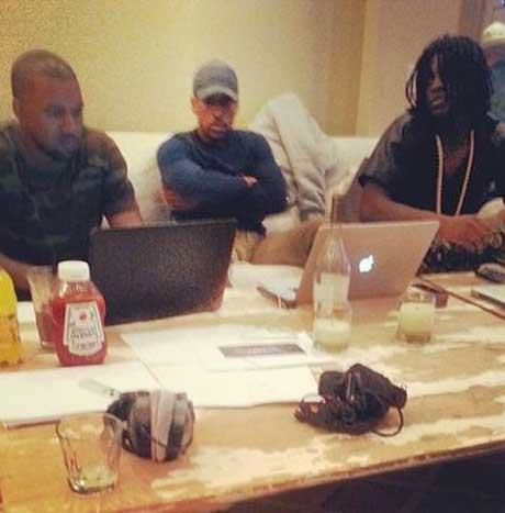 Kanye West and Chief Keef Collaborating Again for 'Bang 3'