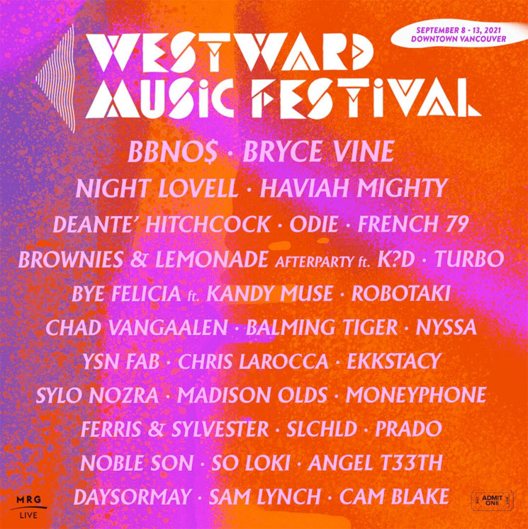 Westward Music Festival Is Planning to Return to Vancouver This September