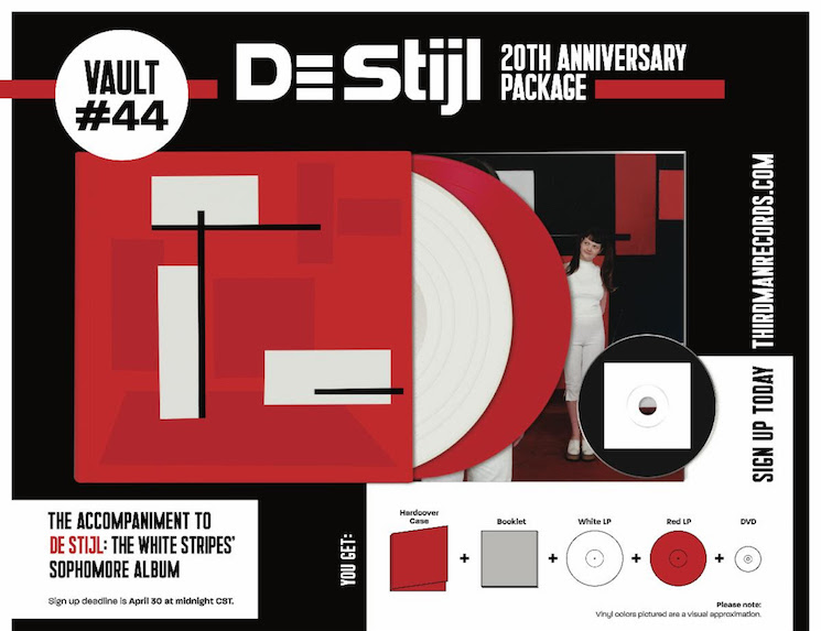 The White Stripes Are Treating 'De Stijl' to a 20th Anniversary Reissue