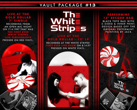 The Whites Stripes Unearth First-Ever Live Shows for Vinyl Release