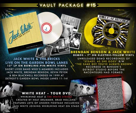Jack White Unearths Live Album from Former Band the Bricks
