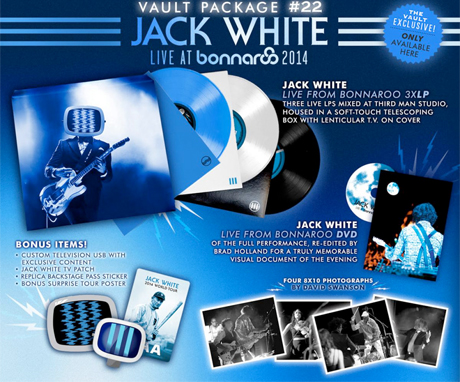 Jack White Documents Recent Bonnaroo Performance with New Live Release