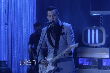 """Jack White """"Alone in My Home"""" (live on 'Ellen')"""